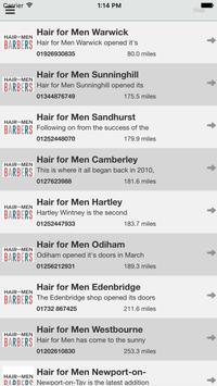 Hair for Men screenshot 4