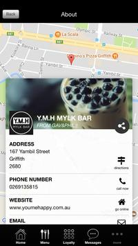 YMH MYLK BAR screenshot 4