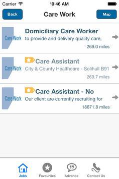 Advance Job Finder apk screenshot