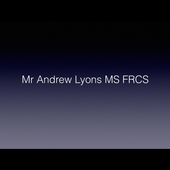 A LYONS FRCS profile & booking icon
