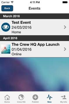 Crew HQ apk screenshot