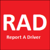 RAD Report a driver icon