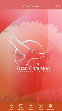 Iglesia La Gran Comision poster