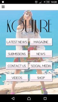 Kouture poster