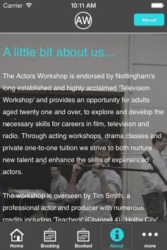 The Actors Workshop App screenshot 4