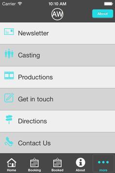 The Actors Workshop App screenshot 2