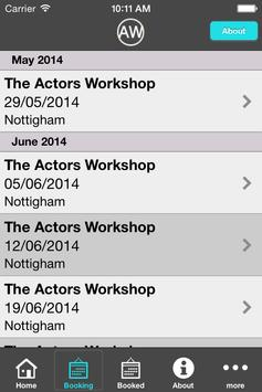 The Actors Workshop App screenshot 3