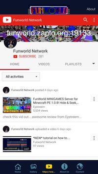 Funworld Network screenshot 1