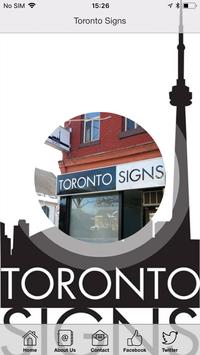Toronto Signs poster