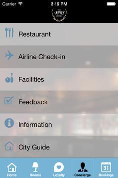 The Harvey Hotel apk screenshot