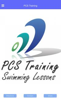 PCS Training poster