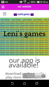 Leni's Games apk screenshot