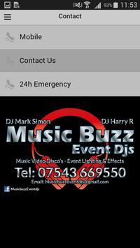 Music Buzz Event Djs screenshot 2
