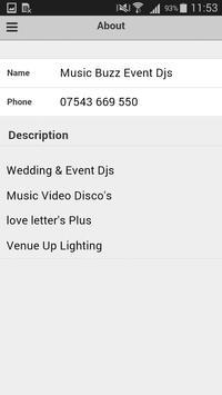 Music Buzz Event Djs screenshot 3