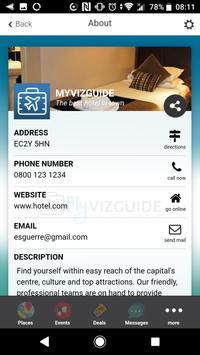 MyVizguide screenshot 4