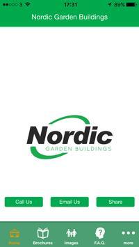 Nordic Garden Buildings poster
