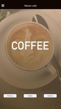 MACAN Cafe App poster