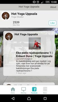 Hot Yoga Uppsala apk screenshot