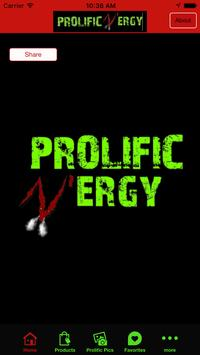 Prolific N'ergy poster