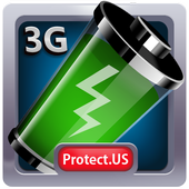 Protect.US™ Battery 3G Saver icon