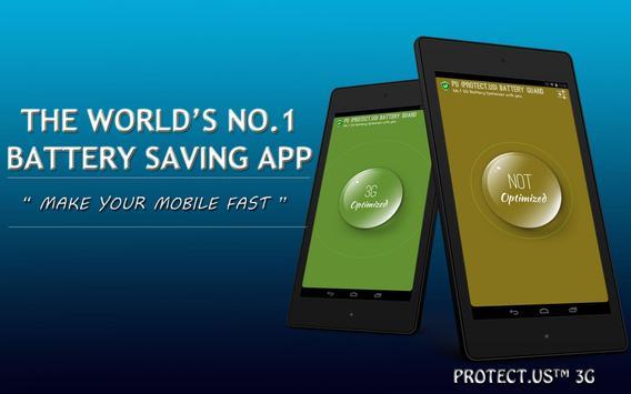 Protect.US™ Battery 3G Saver screenshot 4