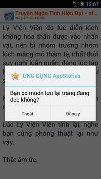 Truyện Ngôn Tình Hiện Đại OFF apk screenshot
