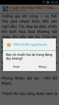 Truyện Tiên Hiệp Phần III OFF apk screenshot