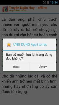 Truyện Ngắn Offline apk screenshot