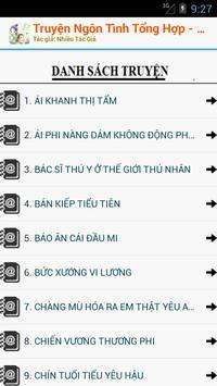 Truyện Xuyên Không Offline apk screenshot