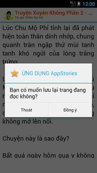 Truyện Xuyên Không OFF Phần II apk screenshot