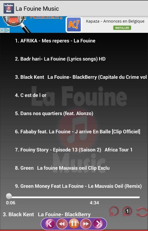TÉLÉCHARGER LA FOUINE BAFANA BAFANA REMIX MP3
