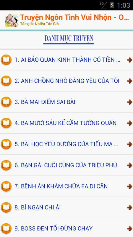 ... Ngôn Tình Hài Hước OFF 2016 screenshot 1 ...