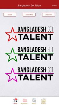 Bangladesh Got Talent poster