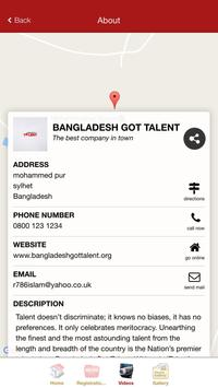 Bangladesh Got Talent apk screenshot