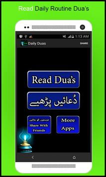 Daily Routine Dua's apk screenshot