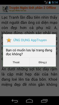 Truyện ngôn tình - Offline apk screenshot