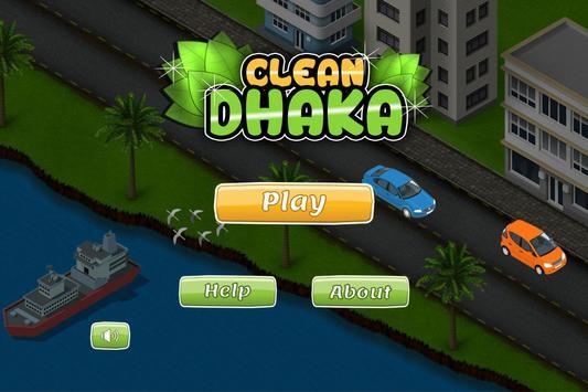 Clean Dhaka poster