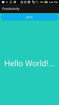 HelloWorldDemoApp screenshot 1