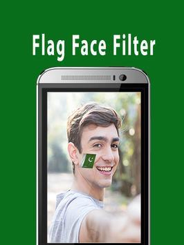Flag Face Photo Frame Pakistan apk screenshot