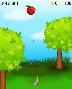 apple arrow shooting game poster