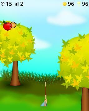 apple arrow shooting game screenshot 2