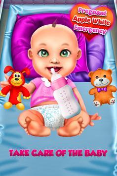 Apple White Pregnant Mommy screenshot 1
