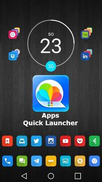 Apps Quick Launcher poster