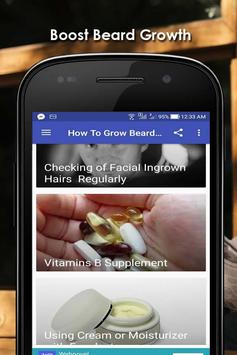 How To Grow Beard Fast poster