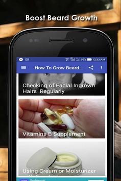 How To Grow Beard Fast screenshot 5