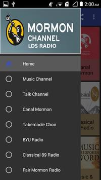 LDS Radio Stations Mormon Channel poster