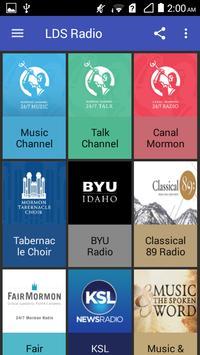 LDS Radio Stations Mormon Channel screenshot 1
