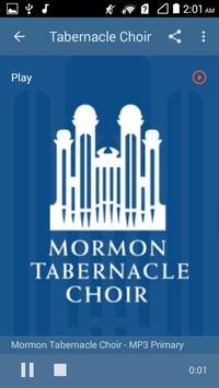 LDS Radio Stations Mormon Channel screenshot 4