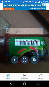 QR Barcodes Scanner and Generator screenshot 1