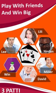 Poker star game guides: 3 teen Patti Free Tips poster